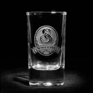 Classic Script Personalized Shot Glass