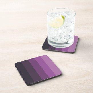 Purple Shades simple & sleek Coaster