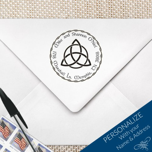 Celtic Style Monogram Stamp MS-R5