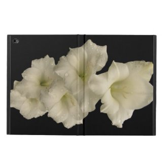 White Gladiola Powis iPad Air 2 Case