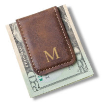 Rustic Men's Magnetic Money Clip