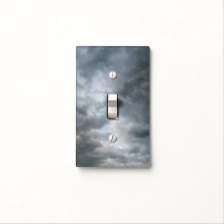 Storm Clouds Breaking Light Switch Cover