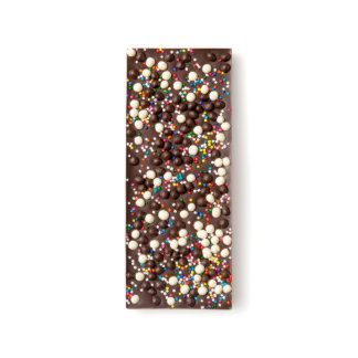 Chocolate Crisp and Sprinkles Dark Chocolate Bar