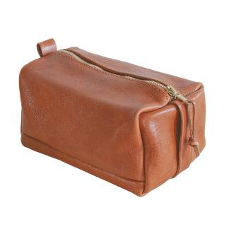 Full Grain Italian Leather Dopp Kit