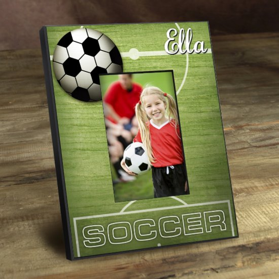 Personalized Kids Sports Frame - Soccer