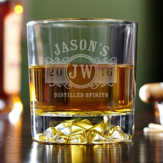 Exquisite Marquee Fairbanks Whiskey Glass