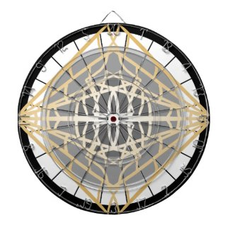 Darts Dart Board Geometric Gold Silver Games Gifts
