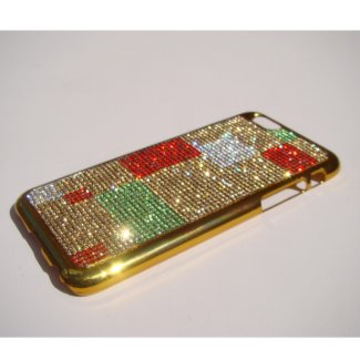 iPhone 6/6s Gold Chrome Art Case 2