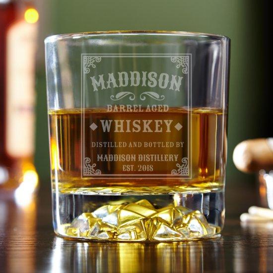 Excellent Engraved Stillhouse Whiskey Glass