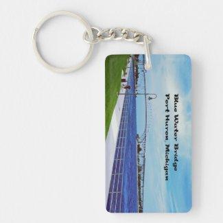 Port Huron Michigan Keychain