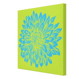 Lime green wall canvas art to decorate bare walls for Lime green wall art