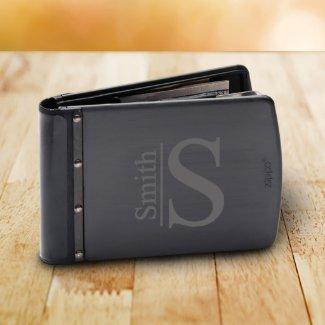 Titanium Black RFID Indestructible Zippo Wallet
