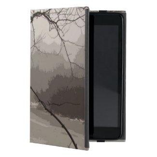 Mystical Fog over Swamp iPad Mini Case