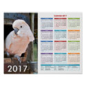 Cockatoo Poster 2017 Calendar