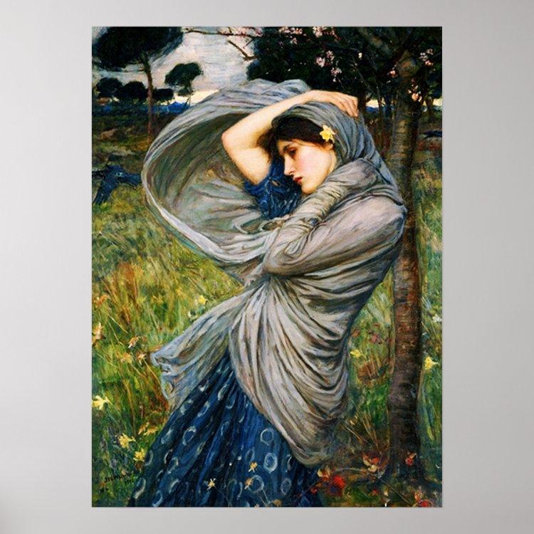 Waterhouse Boreas Poster