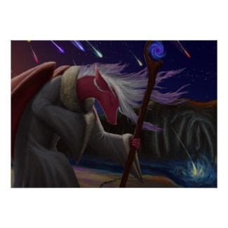 Dragon Priestess Poster