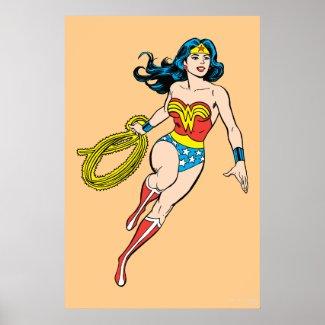 Wonder Woman Run Poster