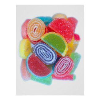 sugar candies poster