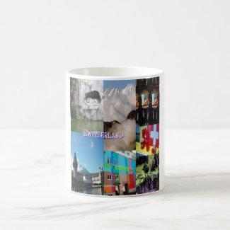 Colorful Images of Switzerland by Celeste Sheffey Coffee Mug