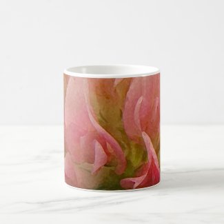 Pink Clover Coffee Mug