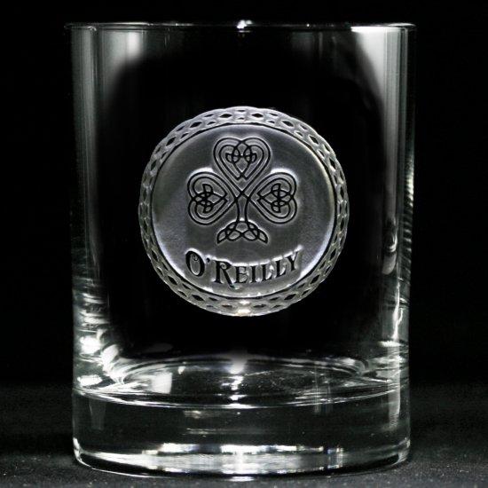 Irish Pride Personalized Whiskey Glass