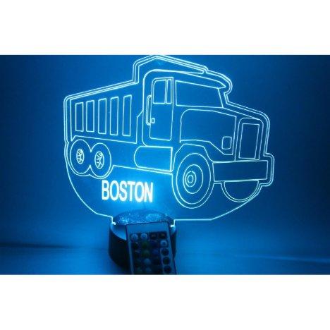 Dump Truck Paving Light Lamp LED Personalized