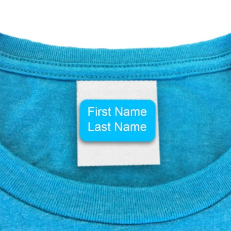 Self Adhesive Clothing Labels