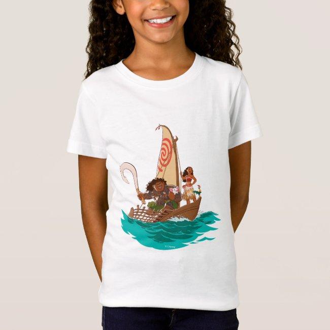 Personalized Disney Moana T-shirt
