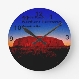 The most sacred monolith in Australian outback Round Clock