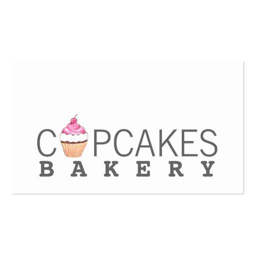 Modern Cupcake Bakery Business Card