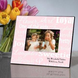 Blanco, imagen personalizada rosada Fram del