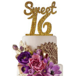 """Sugar Yeti Made in USA Sweet 16 Cake Topper<br><div class=""""desc"""">Sugar Yeti Cake Topper Proudly Made in USA. All Our Cake Toppers are made to order just for your wedding in our facility at Orange County, California. You will receive your cake topper in 2-5 business days depends on how far you live from California. Each topper is laser cut from...</div>"""