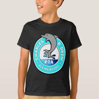 Large Logo, White - Kids' Shirt