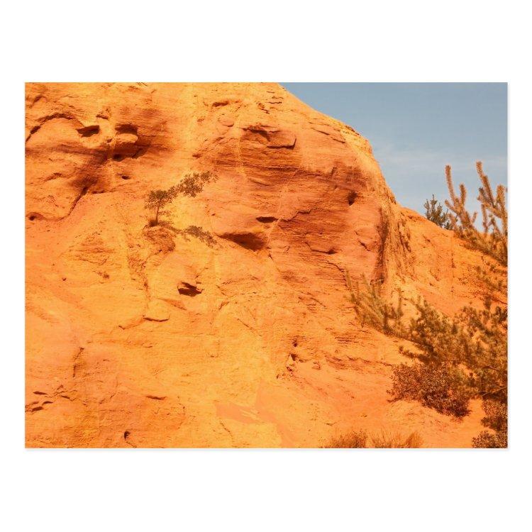 Les Ocres du Roussillon Postcard