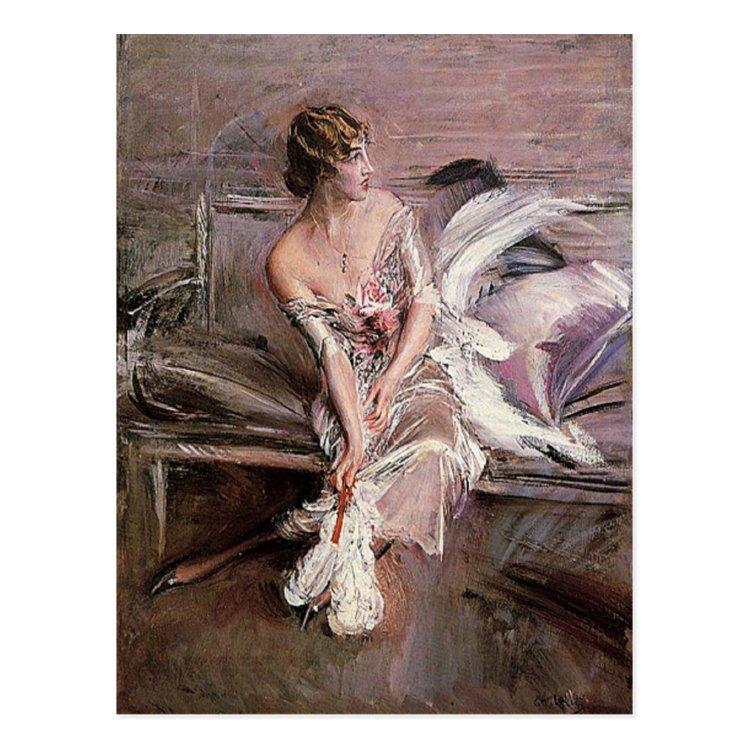 Gladys Deacon - Boldini Postcard