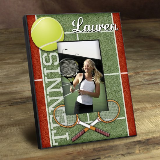 Personalized Kids Sports Frame - Tennis