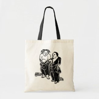 Chinese Poets Tote Bag