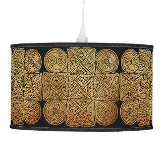 Celtic Knotwork Cross Hanging Lamp