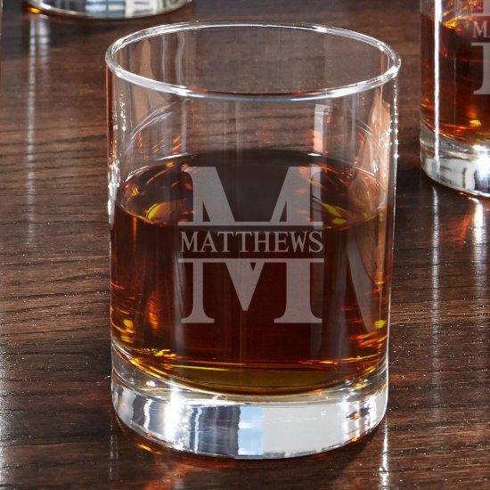 Timeless Monogram Eastham Whiskey Glass