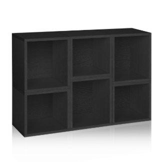 Black Small Way Basics Storage Cubes