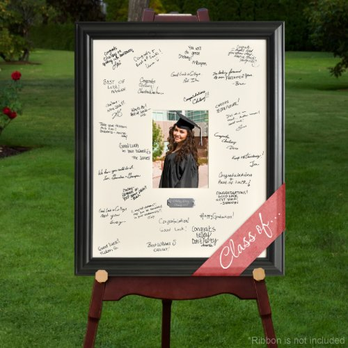 Engraved Plate Graduation Signature Picture Frame