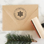 """Personalized Return Address Stamp Style No. 82<br><div class=""""desc"""">This return address stamp is the perfect gift for weddings,  housewarming,  or just because! Use it to stamp envelopes,  invitations,  cards,  books,  or whatever else you need.</div>"""