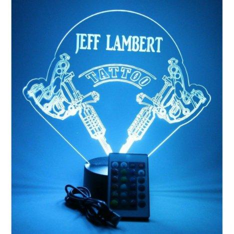 Tattoo Artist Shop Body Art Lamp LED Personalized