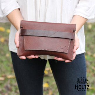 The Moriah Fine Leather Clutch