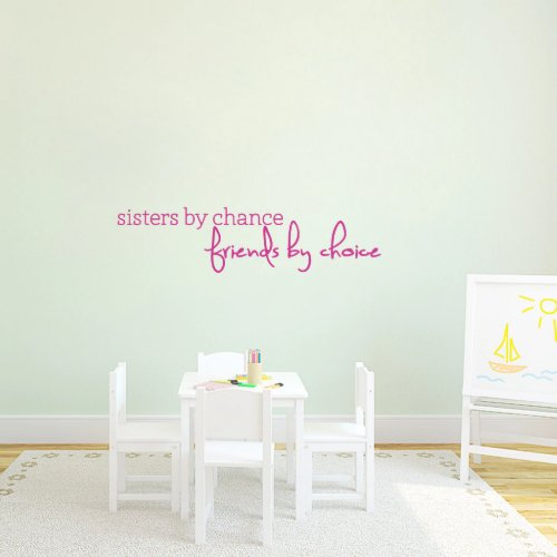 Large Sisters By Chance Wall Decal
