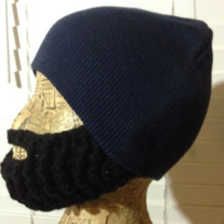 Knit Beard Beanie - Willow