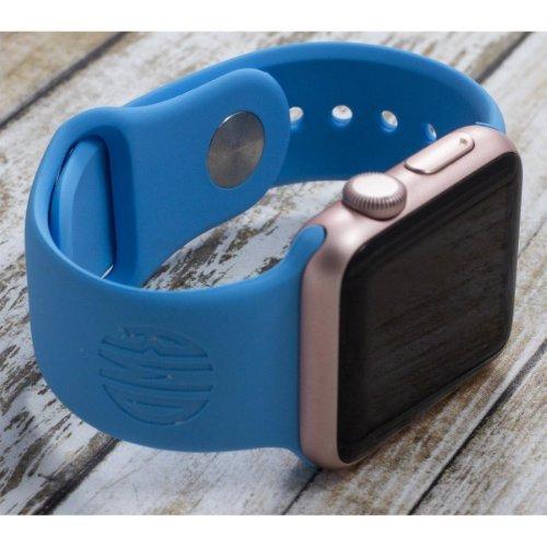 Circle Monogram Slim Sports Apple Watch Band