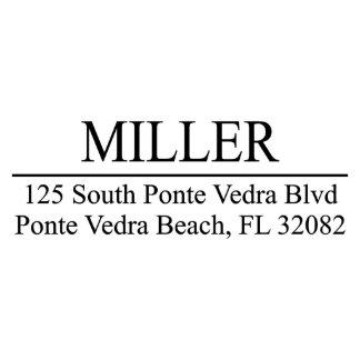 Miller Custom Return Address Stamp