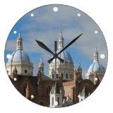 Cuenca, Ecuador - New Cathedral Large Clock