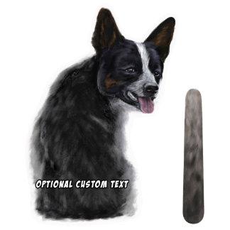 Wagging Wiper Australian Cattle Dog Car Sticker